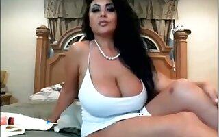 Big tit pornstar chatting with fans