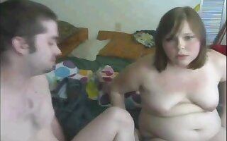 Guy fucking Horny Fat BBW college girl during a warm afternoon