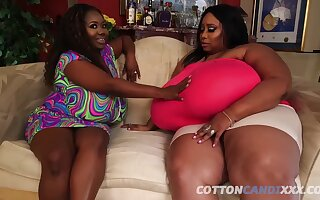 Obese SBBW Of a female lesbian with monster soul - black Of a female lesbian sistas make out