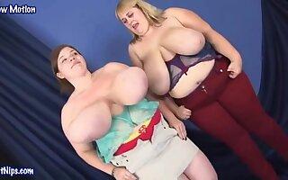 Lexxxi Luxe , Maggie Dubonet  - Beamy Tits Party