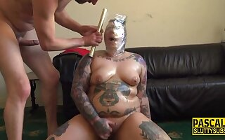 Bbws Spidergagged Submissive Gets Pounded