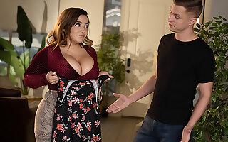 Alex misses Natasha Nice's titanic tits bouncing on his cock!!